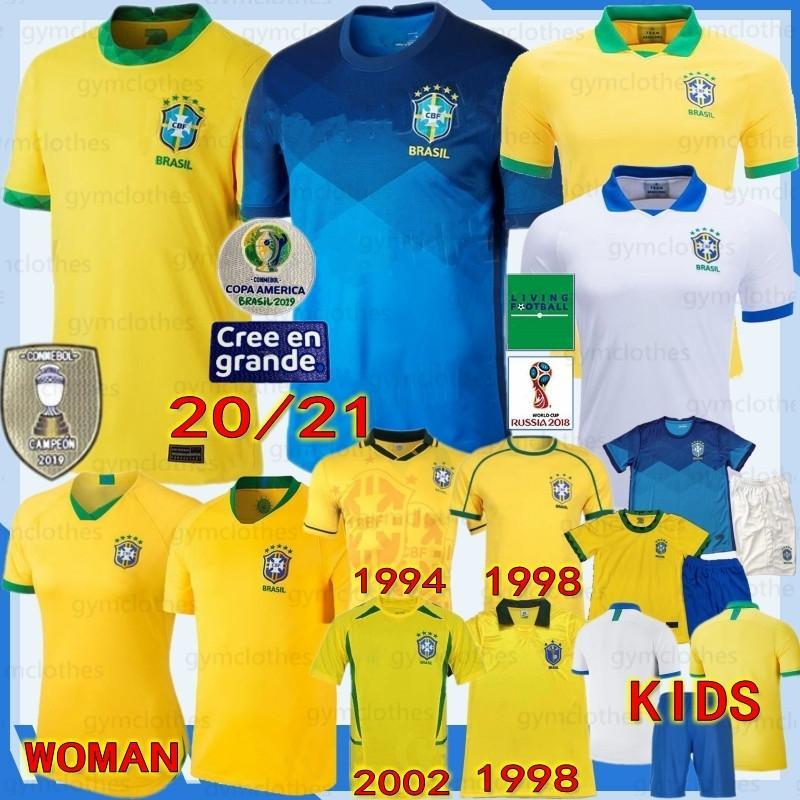 تايلاند البرازيل لكرة القدم جديدة NERES جيرسي camiseta دي futebol كوبا أمريكا 20/21 brasils G.JESUS MARCELO VINICIUS الرجال + الاطفال امرأة كرة القدم شي