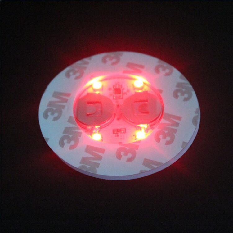 stok AŞIRI serbest DHL LED Işık İçin Cam Bong Taban LED Işık 7 Renk Otomatik Ayarlama