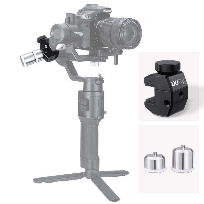 BMCC 4K 8K에 대한 UURig 짐벌 카운터 웨이트 DSLR 카메라 안정제 DJI 로닌 SC Zhiyun Feiyu AK2000 AK4000 카운터 무게