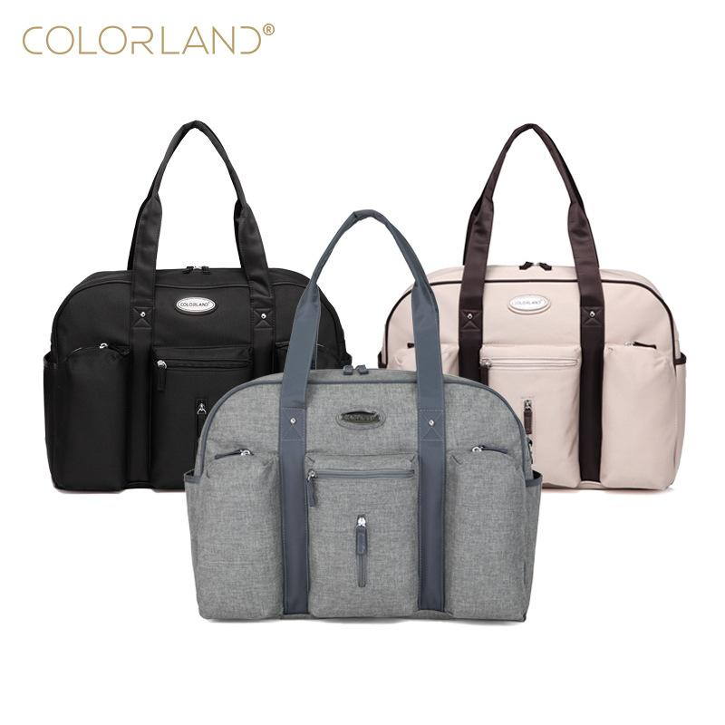 Diaper Bags Colorland Baby Bag Organizer Fashion Mummy Maternity Daddy Messenger Changing Nappy Mom Mother Handbag