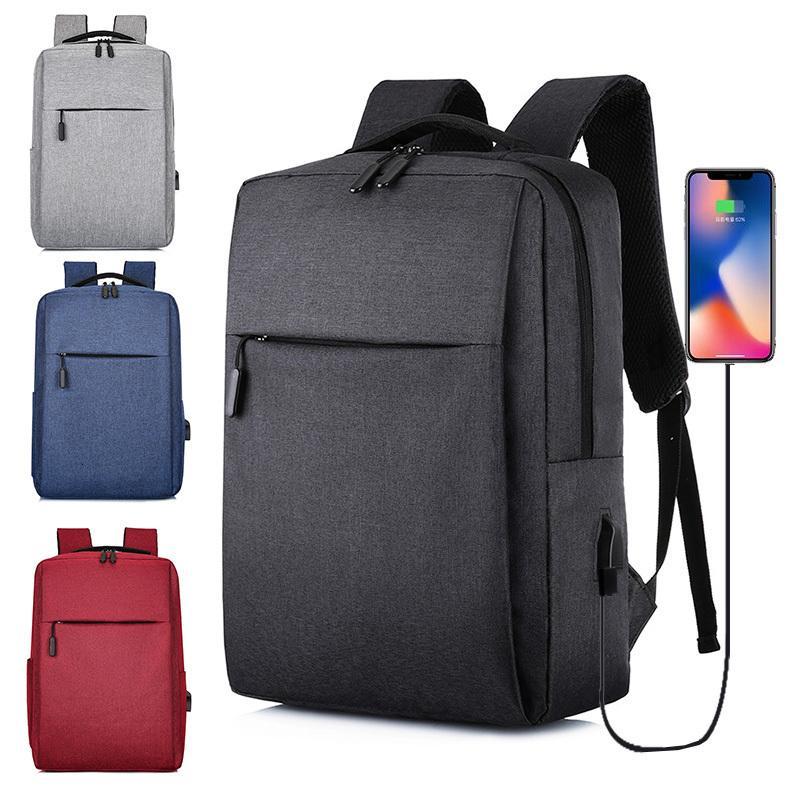 Viaje 2020 Nuevo USB del ordenador portátil del bolso de escuela Mochila antirrobo Hombres backbag Daypacks masculino Ocio Mochila Mochila Mujeres Gril