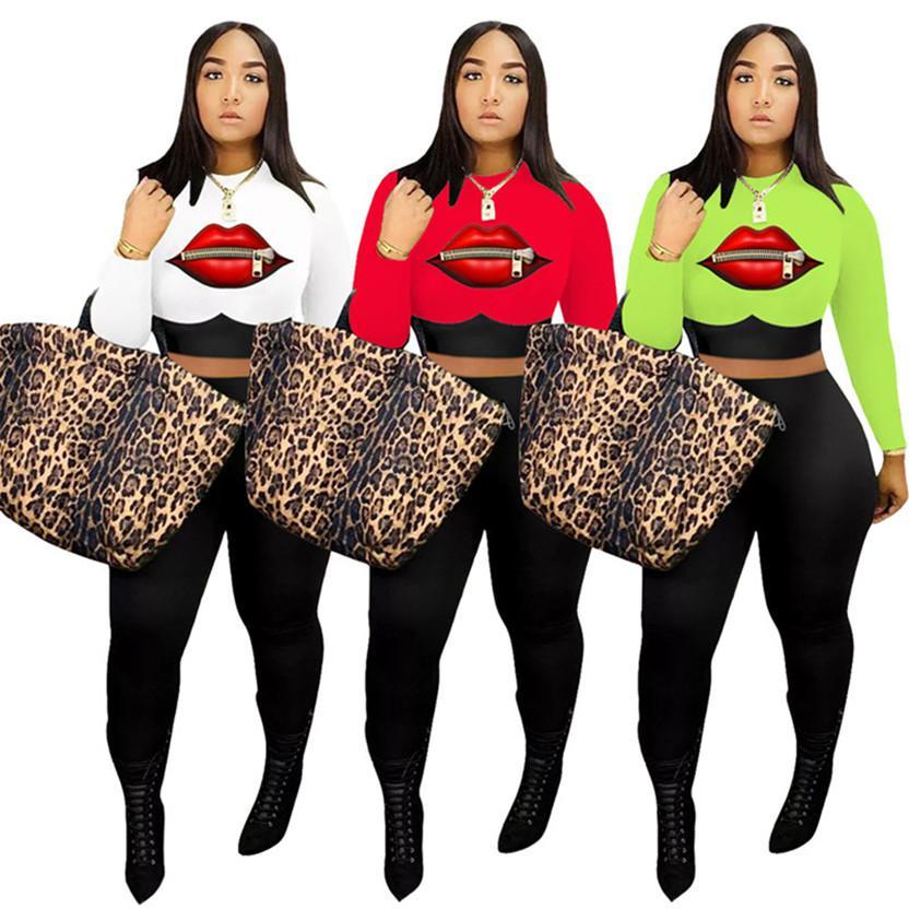 inverno queda Mulheres designer de trajes de treino cor sólida manga longa principais culturas camisola + calças pretas 2 peças set casuais agasalhos 3825
