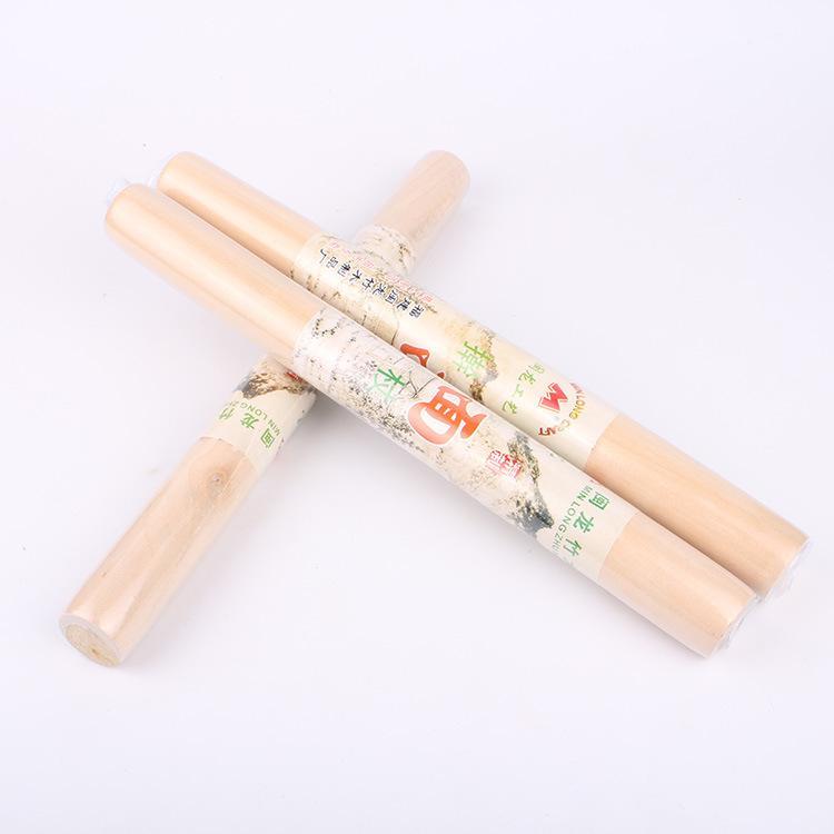 Madeira Rolo Natural rolo de madeira Pinos Dumpling Wrapper Durable não Stick Dough Roller Kitchen Tools GGA2390