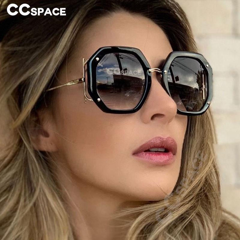 Occhiali da sole Occhiali da sole Nuova Moda quadrata Occhiali di lusso Brand Donne The Vintage Shades UV400 Design 48154 AUXVD