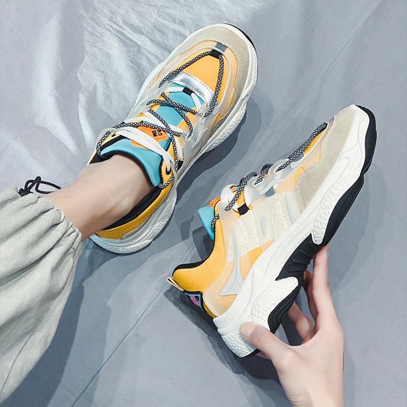 Пластики Мужчины Повседневная обувь Мода кроссовки для Man 2020 Новое прибытие Me смешанных цветов Spring Tide обувь Платформа Mens Light quRR #