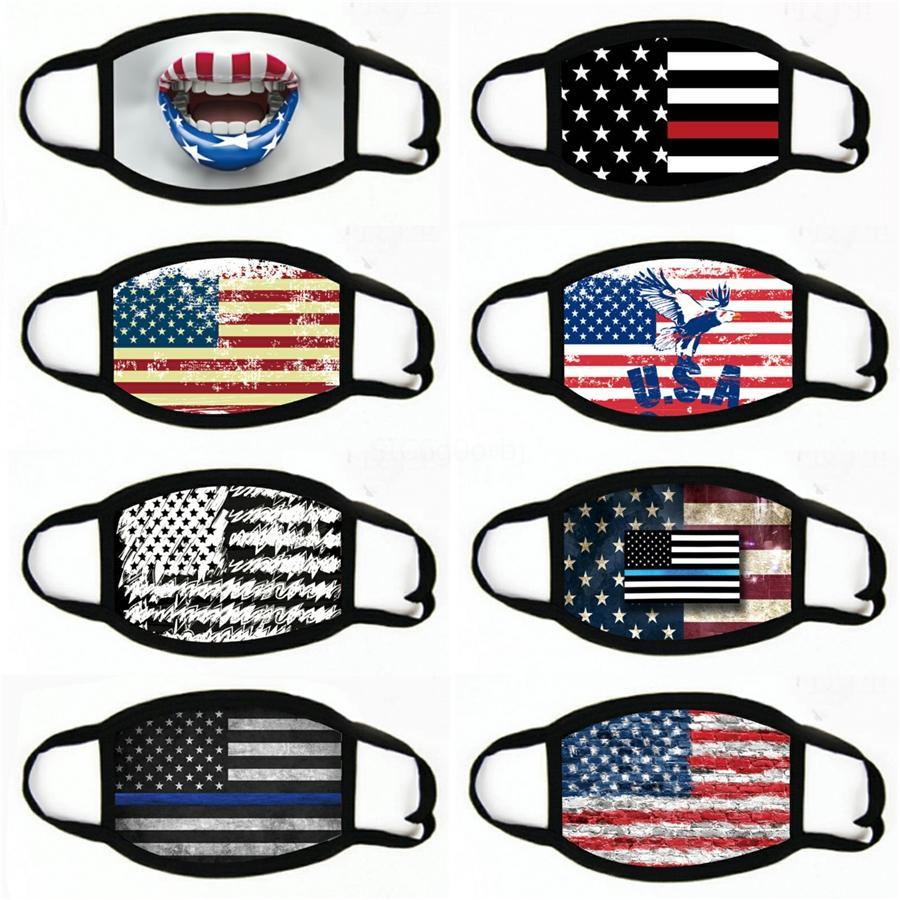 Masques Impression des enfants American respirant Drapeau adulte et masque de camouflage protecteur # 982 poussiéreux fknvw