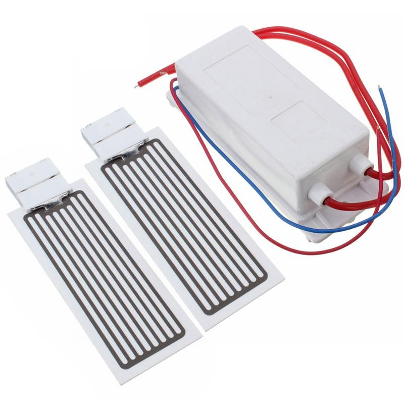 10G-Ozon-Generator 220V Luftreiniger Ozon Deodorization mit 2 Stück Keramik Plate Schnell Deodorization