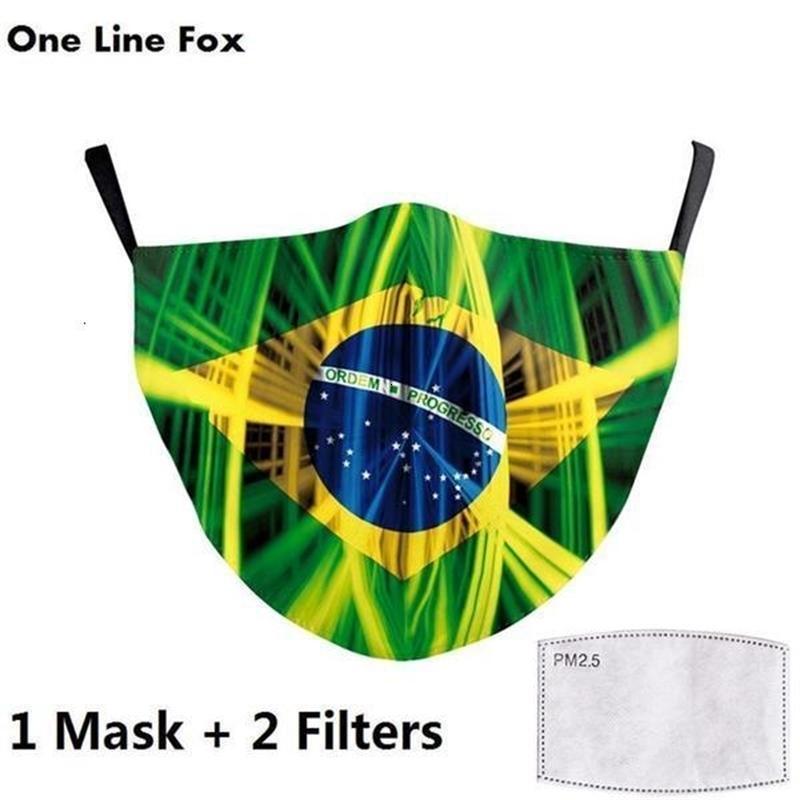 La lucha contra España Máscaras Forza Italia Bandera mantener la cara de impresión de la máscara de protección para adultos Tela PM2,5 Reusab 8oda joho546