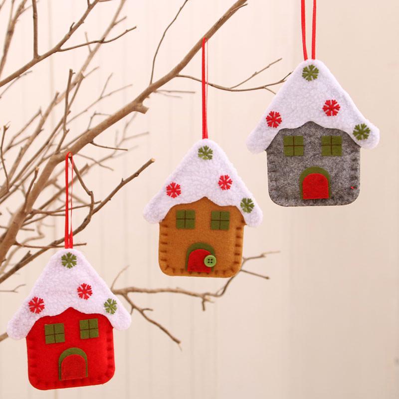 2020 Árbol Feliz Navidad Decoración Para el hogar Decoración de Navidad ornamento colgante colgar las decoraciones para el hogar Natal Año Nuevo 2021