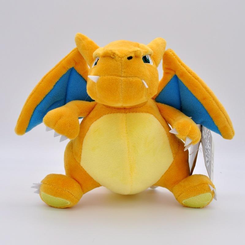 Presentes Atacado Charizard Toy Crianças Stuffed boneca Plush Toy férias Halloween 18 centímetros