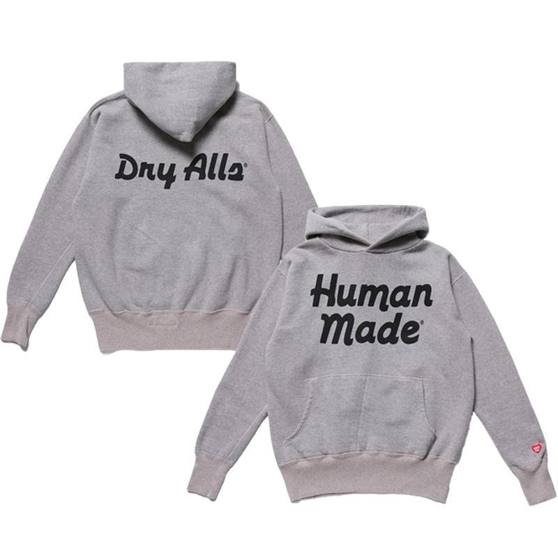 Grey Printed Women Men Hoodies Sweatshirt Men Cotton Hoodie Pullover