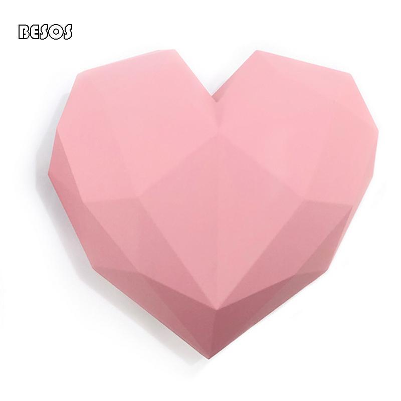 Сердце образный Свадебный подарок Box Большой ручной коробки подарка Простой Слейте День рождения День святого Валентина B0031M