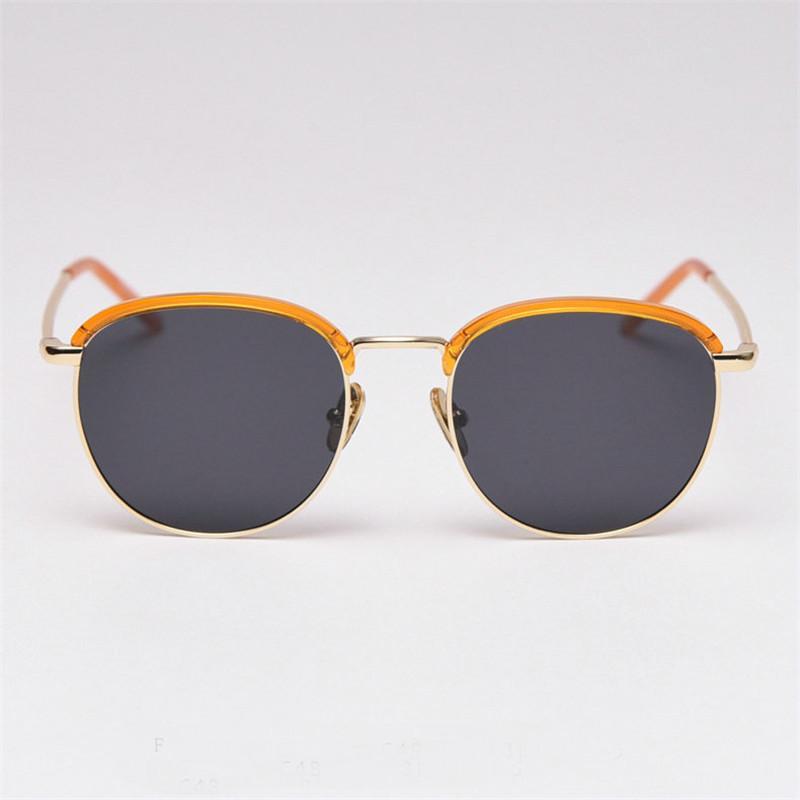 Viaggi Piccola Piazza Occhiali da sole polarizzati donne di guida Sun occhiali di alta qualità metallo occhiali FML Telaio