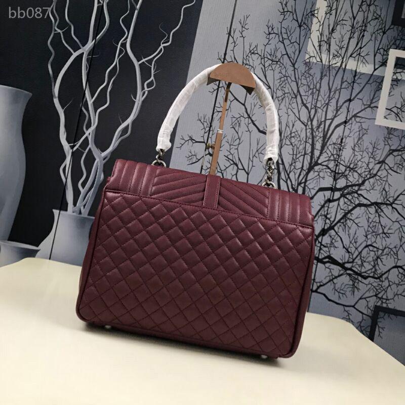 Hot solds Womens Bags clássico Bolsas Bolsas Moda Cadeia Saco Envelope único carneiro Messenger Bag Crossbody Tote Type6