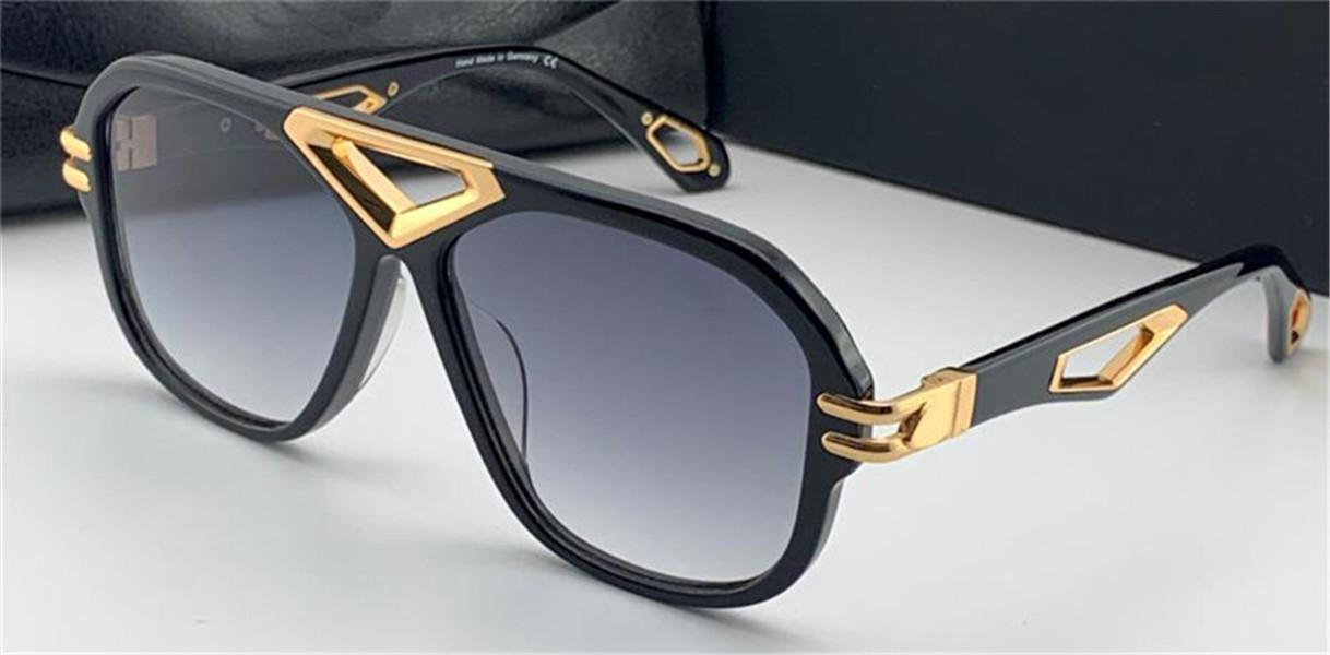 Top Uomo Glasses The Jack II Sunglasses Square Square Full-frame Mirror Diamond Diamond Hollow Glasses Alta qualità Occhiali da alta qualità UV400