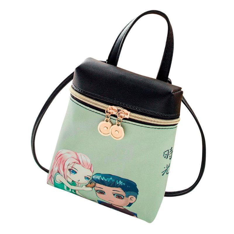Aelicy lusso Donne Borse Designer Donna sveglia del fumetto casuale borsa di cuoio delle signore delle borse delle donne del sacchetto di modo 2020