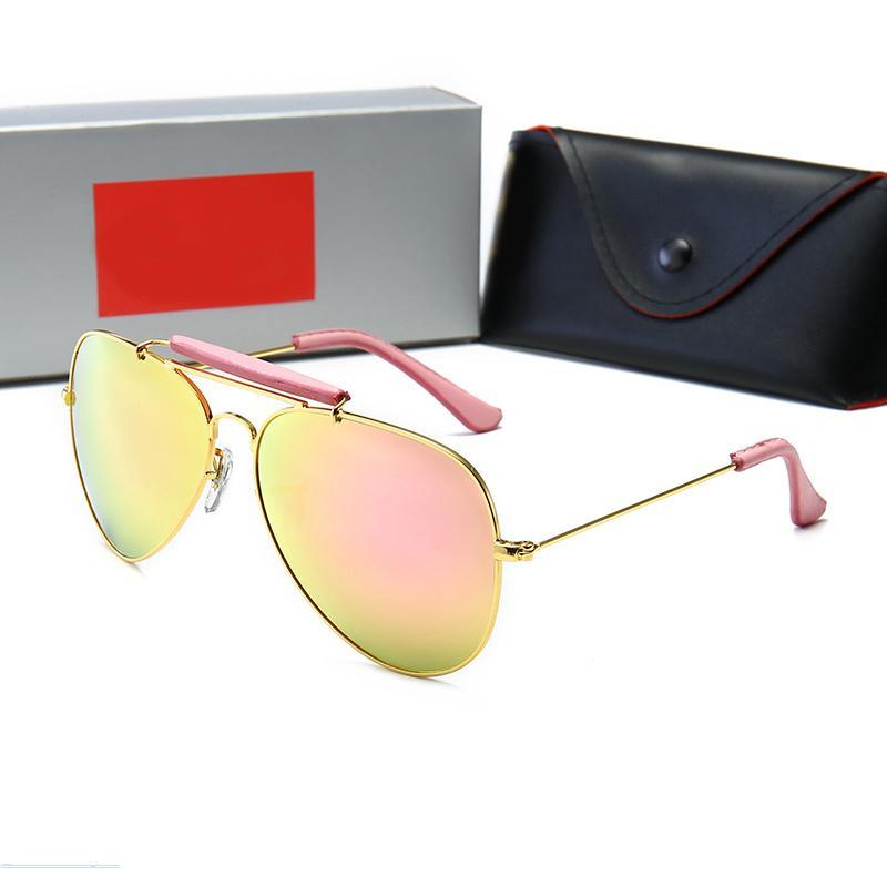 3422 Hot Designer Sunglasses Top Luxury Top Glowses Gold Sunglass SJDGW Hombres Shiny Millionaire Logo Vintage Vende el marco chapado en oro para Sungla Pagw