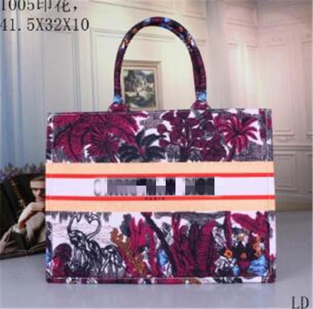 Klasik Kadınlar Büyük XXL Renkli Çiçekler Çantalar Çok Renkli Plaj çantaları Omuz Çanta Alışveriş Çanta Kapasite Bayanlar Cüzdan Çanta