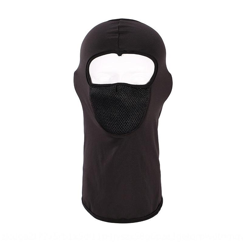 deportes protección contra el polvo respirable UV uueWY verano protector solar cubierta de la cabeza aire libre que monta la máscara protectora máscara Cabeza cubierta de cuello tapa protectora
