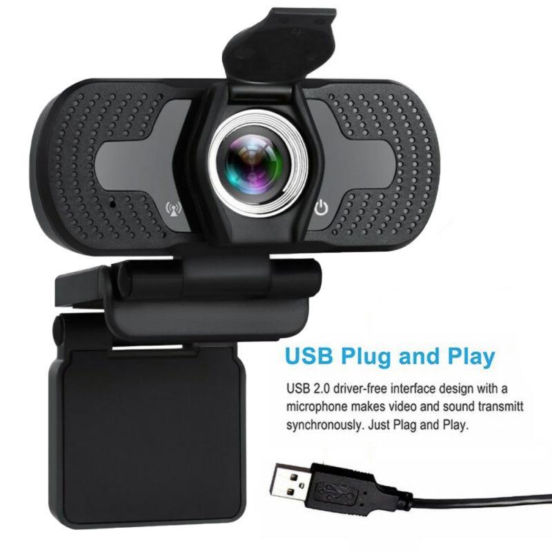 كامل 1080p HD USB وكاميرا ويب للكمبيوتر سطح المكتب كمبيوتر محمول IP كاميرا الويب والميكروفون HD كاميرات المستهلك الجديد