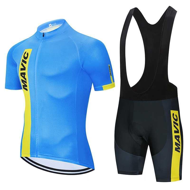 Гоночные наборы 2021 Велоспорт Джерси МТБ Горный велосипед Одежда Мужчины Короткий Комплект ROPA Ciclismo Велосипедные Износы Одежда Быстрый