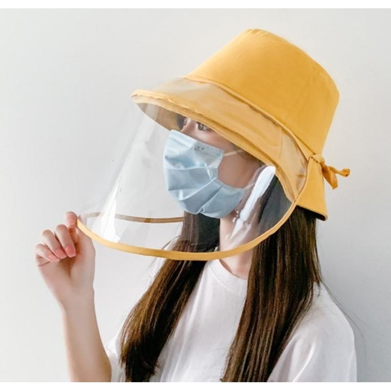 2020 Новый анти-туман Мужчины Женщины Защита от пыли Bucket Hat Женский Открытый Путешествие Солнцезащитная рыболова Шляпы и шапки ВС c1