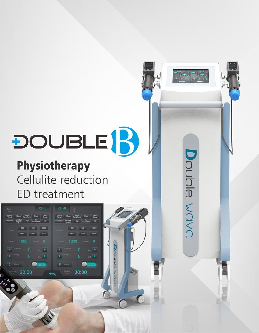 Daual ESWT УВТ машина для ED Treament ударно-волновая терапия используется для лечения травм плеча хронический тендинит ахиллова