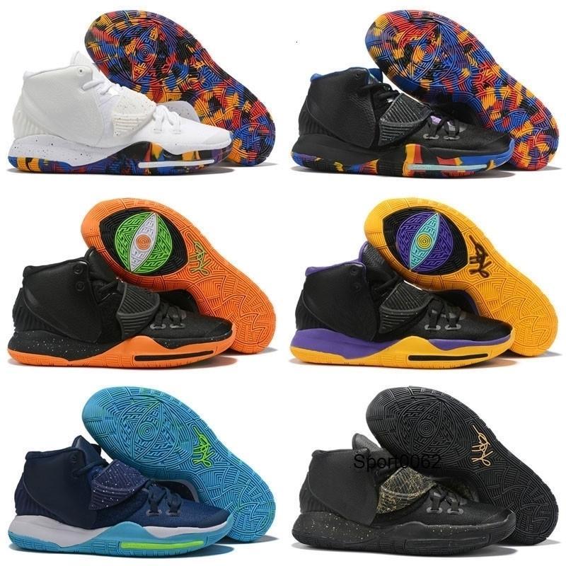 Branco Vi Preto Crianças Kyrie Hot Vendas Melhor 6 Basketball Shoes loja