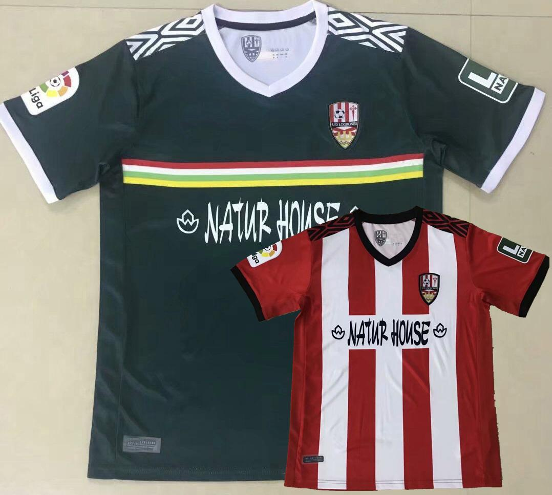 2020 2021 Ud Logroñés Jerseys de futebol Zelu Vitoria Andy Naki Casa LoGrones 20 21 Camisa de Futebol S-2XL