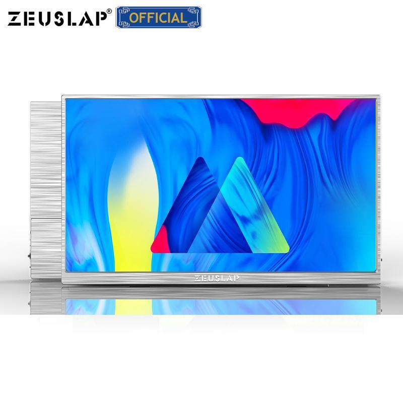 Zeuslap 15Inch UltryLin Portable Gaming Monitor 1920 * 1080P FHD Effet HDR pour le commutateur, PS4, Téléphone, Ordinateur portable, Rivberry PI