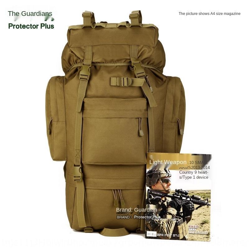 Ayakkabı gereçlerini içeren Dağcılık çanta taktik büyük su geçirmez dağcılık çantası seyahat çantası bagaj Büyük bir sırt çantası açık UBamK 65 litrelik
