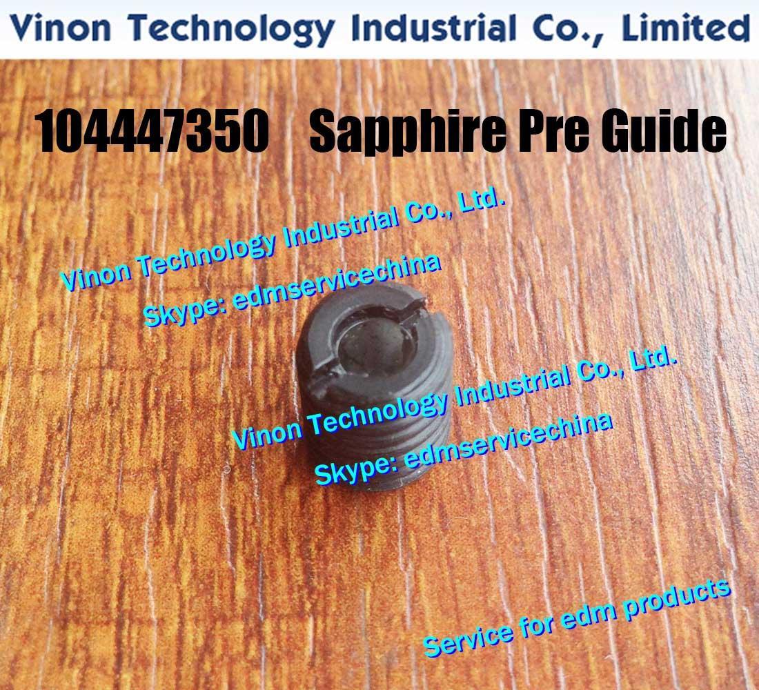 104447350 EDM Sapphire Pre Руководство Ø0.85mm C108 Upper для ROBOFIL 230,240,440 Установочный винт 104.447.350, 100444736, 444.736, 444.735, 444.735.0