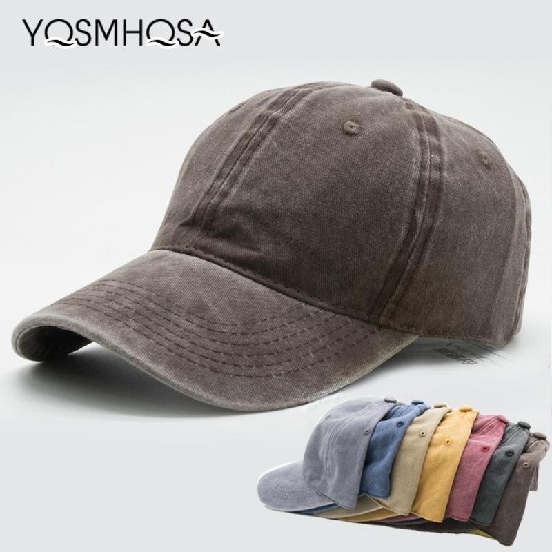 캐주얼 남성면 단색 야구 모자 유리한 여성 야구 모자 소녀 조절 스냅 백은 뼈 아빠 모자 도매 WH004 캡