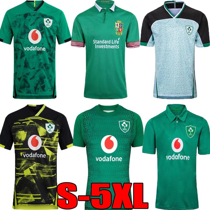2019 2020 2021 Ireland home away rugby Jerseys 2019 World Cup national team Ireland green rugby shirts retro League jersey top quality S-5XL