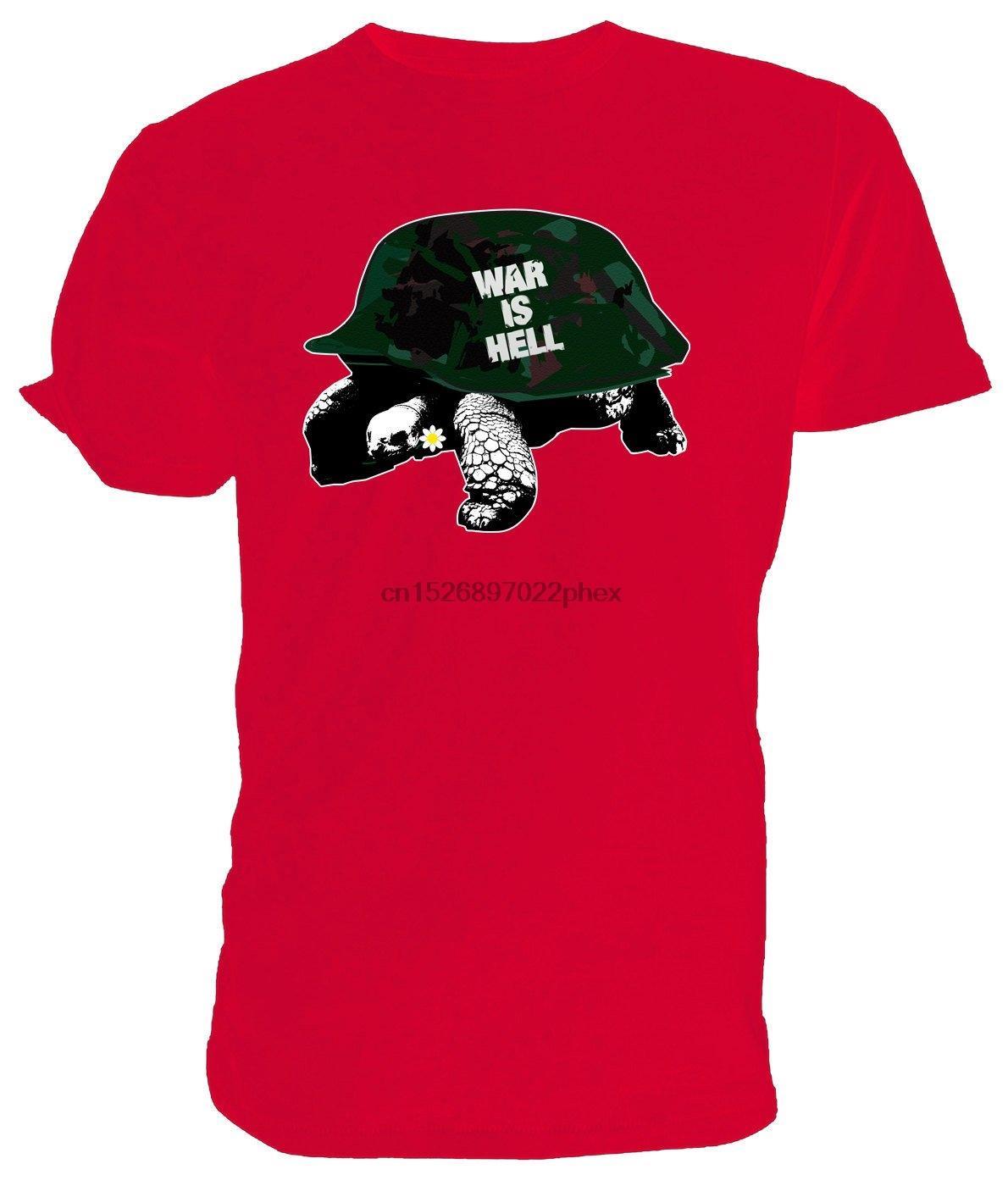 camicia Guerra Tortoise T. classico girocollo corta scelta maniche di formati e colori degli uomini della maglietta