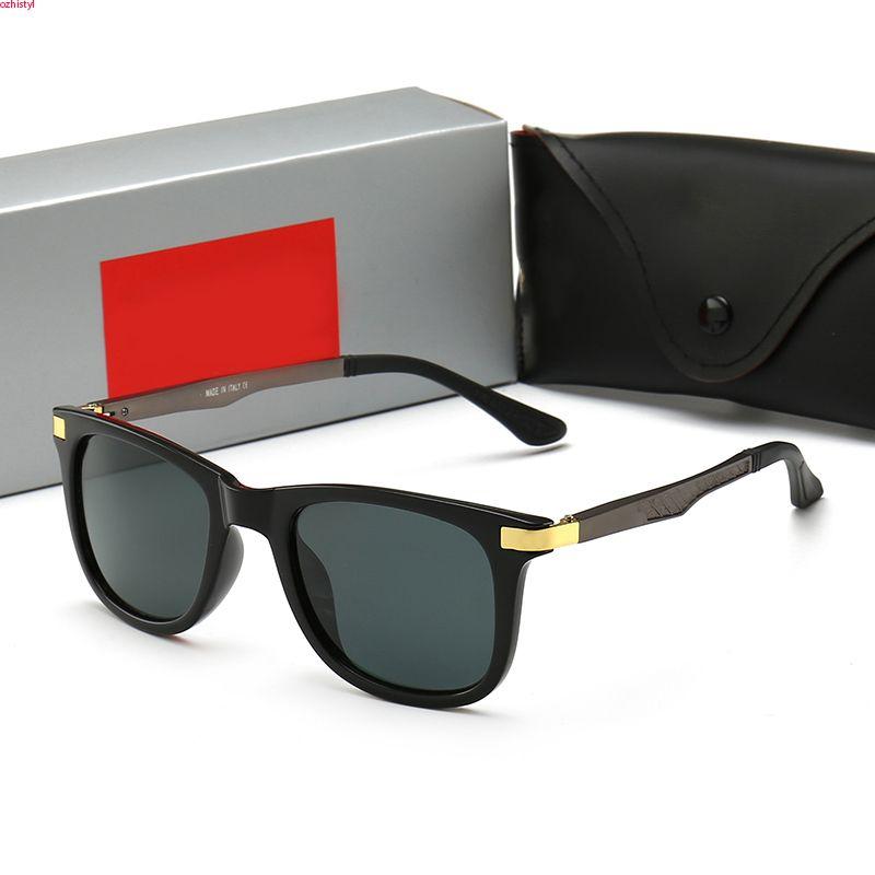 Occhiali da sole polarizzati in resina per occhiali Carfia ovale Designer Box Donne da uomo Occhiali da sole Acatati 400 4233 Colori di protezione con JDCUB