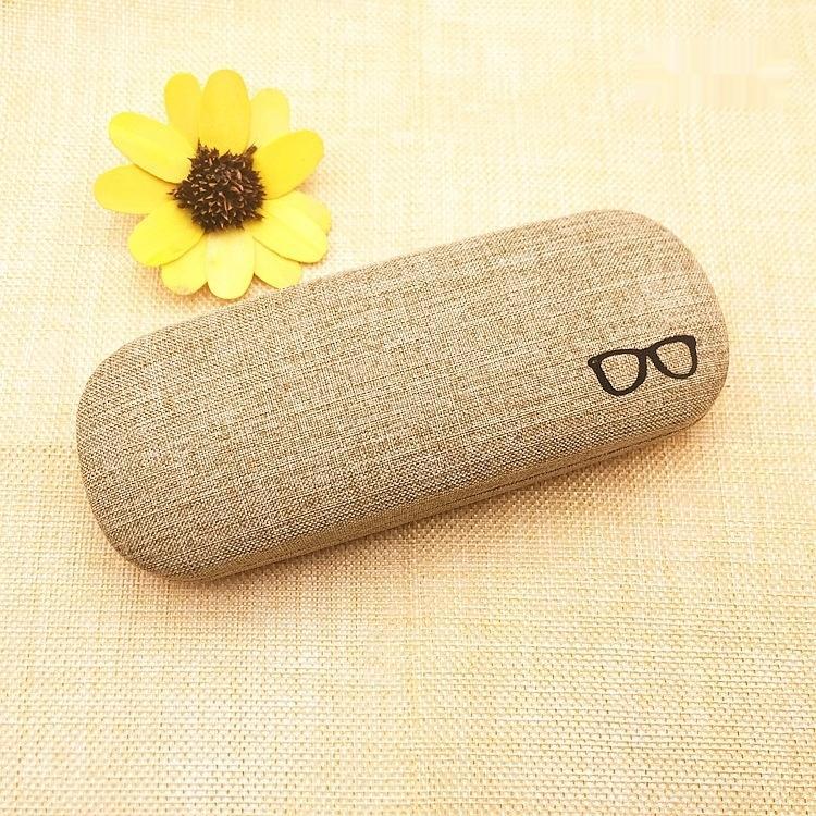Wk3KR Miyop erkek ve kadın kutu harf casefabric öğrenci Taşınabilir Göz kutu gözlük saklama yazdırılabilir özelleştirilmiş baskı caseglasses
