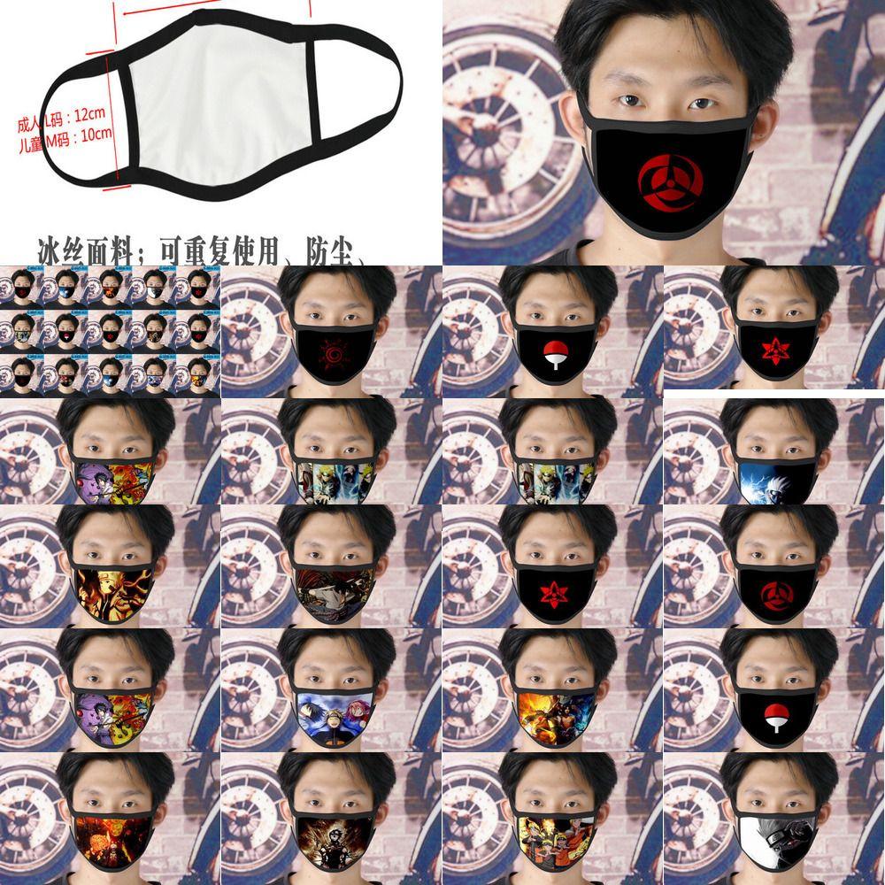 Gençlik Cubrebocas Karikatür Yüz için Tasarımcı Tapabocas Yeniden kullanılabilir 18 Naruto Ino Xhhair Dxifc Maske
