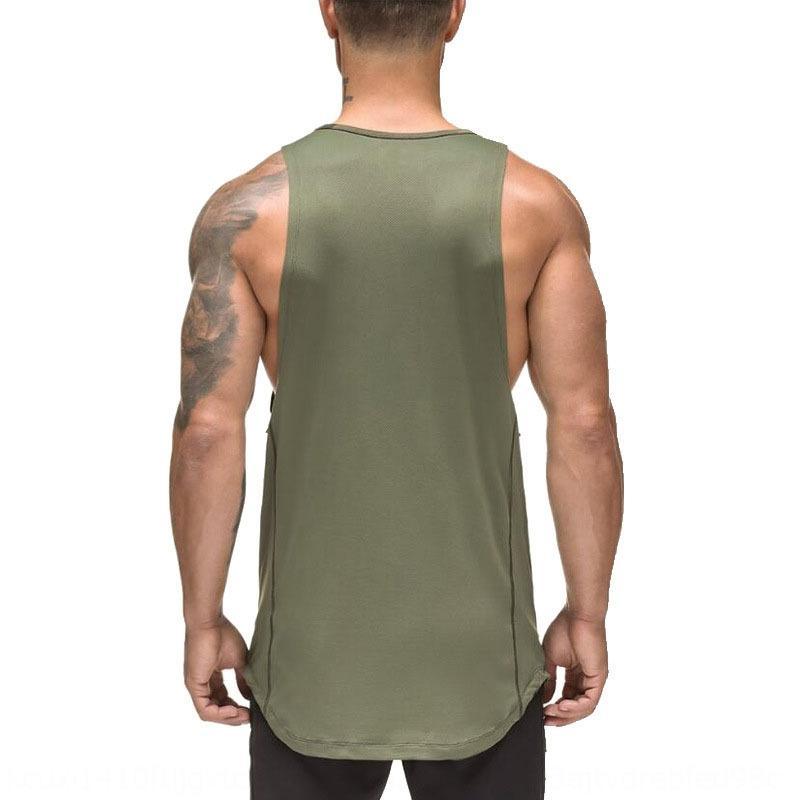 RlPkI ropa de verano de los hombres territorio de camuflaje de los hombres verdes chaleco transpirable de secado rápido de la aptitud aptitud del chaleco del deporte del ejército nuevas FeKZi