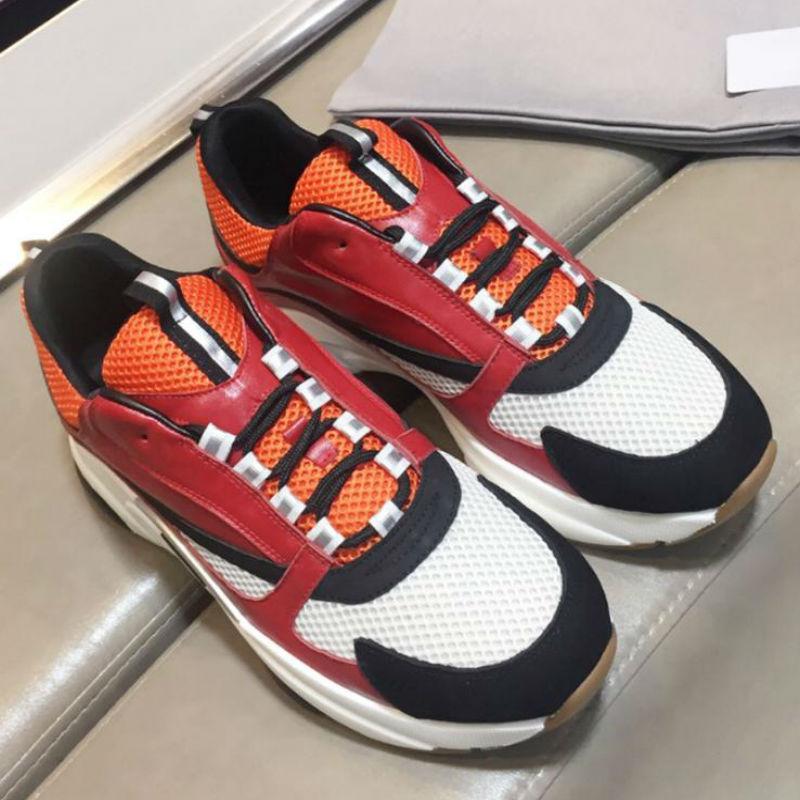 2019 Новая мода г обувь мужчин женщин дизайнер вскользь ботинки конструктора вскользь ботинки Вакуумная подошва кожаный материал размер 35-45