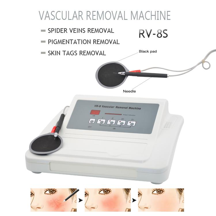 Factory Price! rf red blood vessels removal vascular veins removal machine high frequency facial permanent therapy salon home use