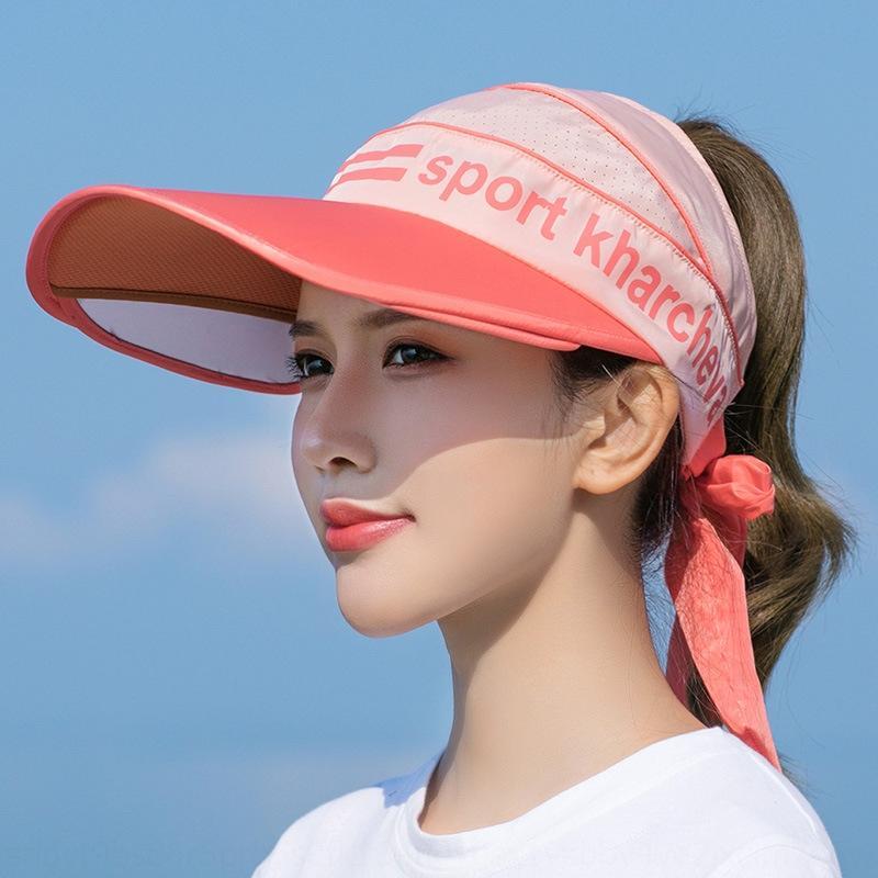 verano N3KyE vacío-top de las mujeres grande ala cara cubriendo sol sombrero fresco aire libre del recorrido sombrero ultravioleta del sol