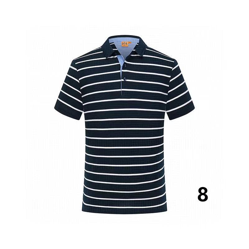 20-19 cotone di estate di colore solido nuovo stile di polo di alta qualità fabbrica polo uomo luxury1 uomini di marca in vendita