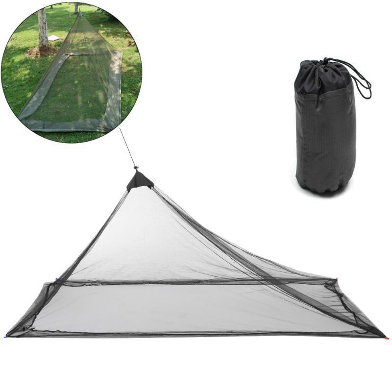Ultraleve Outdoor Camping Tent verão 1 Single Pessoa malha Tenda Verão Corpo Inner Inner Vents Mosquito Net portátil