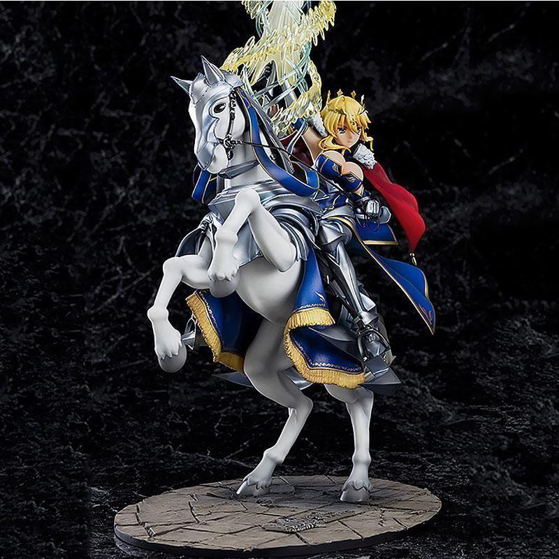 Altria Pendragon Destin Grand Ordre FGO Sabre Lancer cheval Gunman Ver Modèle de collection Pvc Anime Action Figure Doll