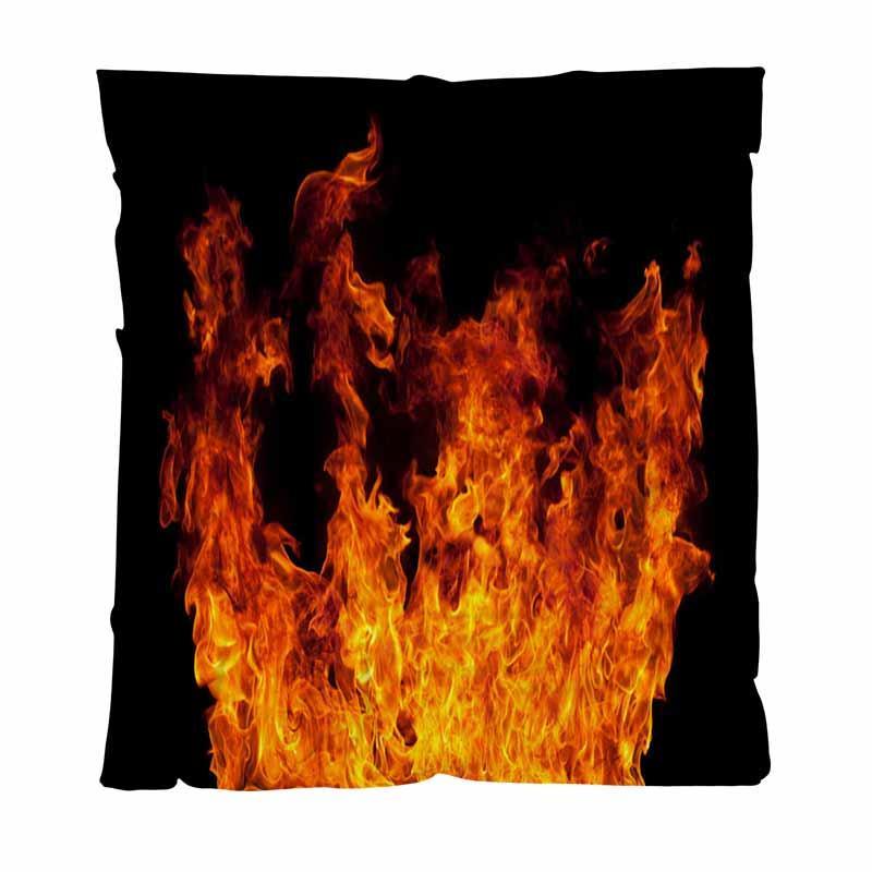 Теплая фланель руно Полотенца Одеяла, Огнь Рам, мягкая удобная многофункциональная Одеяло