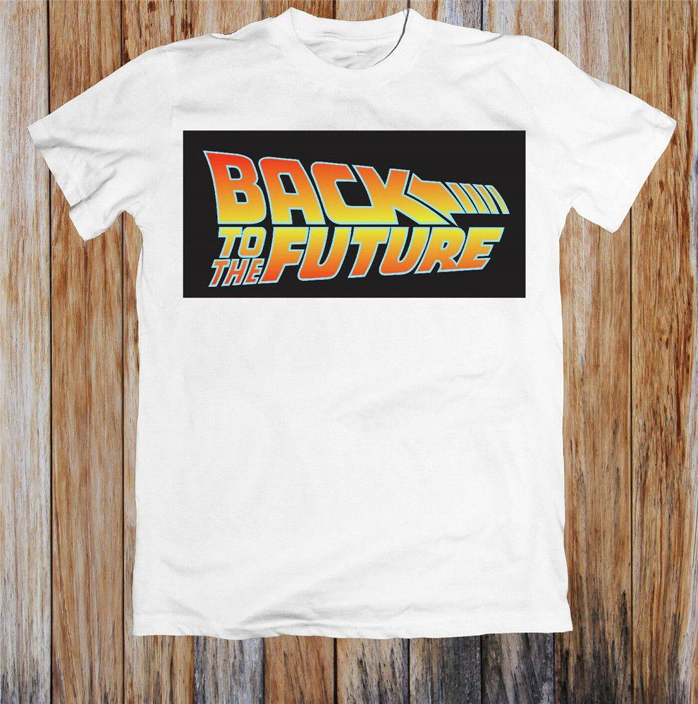 Back To The Future Unisex T-shirt novo fresco camiseta