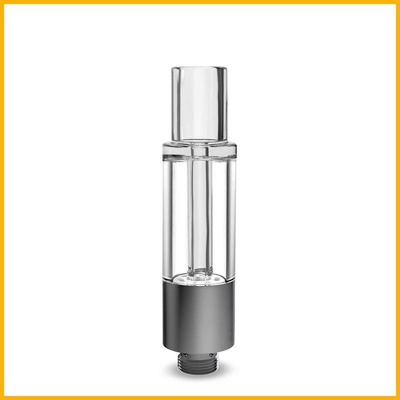 Whole-Glass vape Cartuchos CE3 vaporizador OEM no envasado de fugas de flujo de aire punta de fondo redondo atomizador recargable vidrio vape Pod