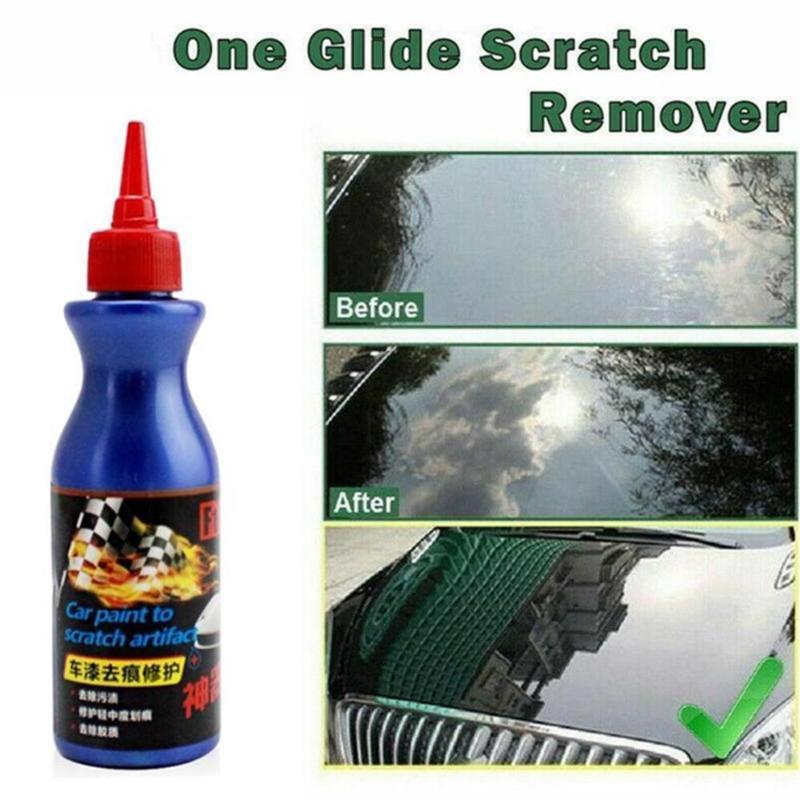 100 ml de voiture Scratch Repair liquide Car utilisation Scratch Enlèvement de la peinture Nettoyage Cire Multifonctionnel peinture de réparation de surface se outil