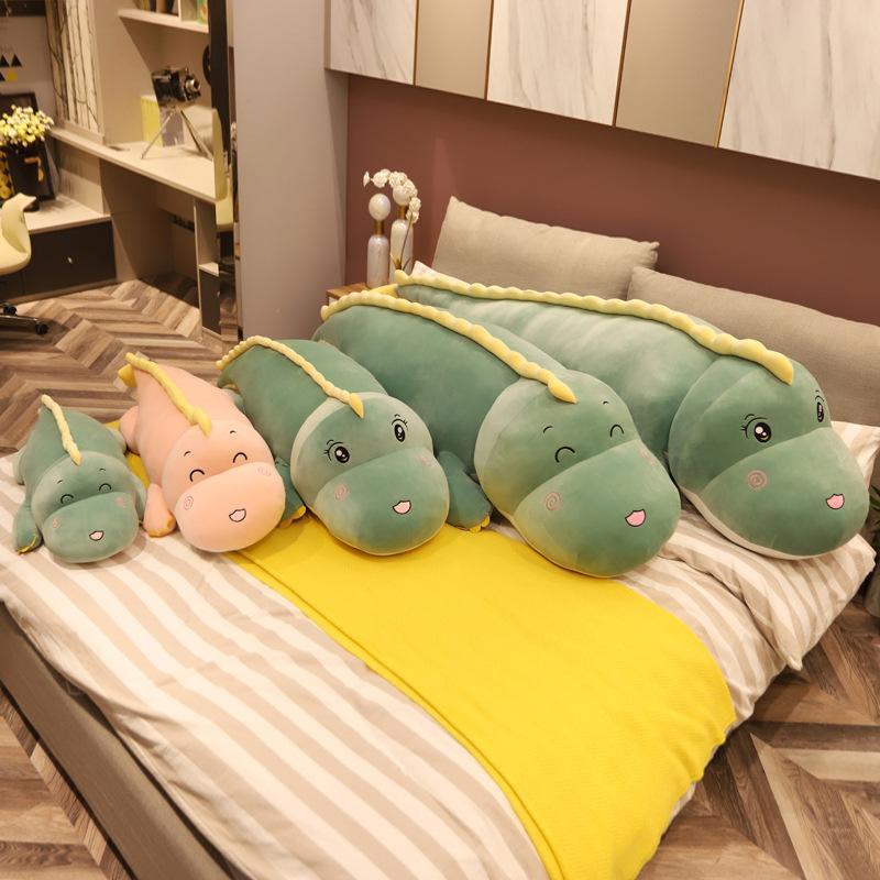 Super Soft Lovely Dinosaur Plush Doll Cartoon Stuffed Animal Toy for Kids Baby Hug Doll Sleep Pillow Home